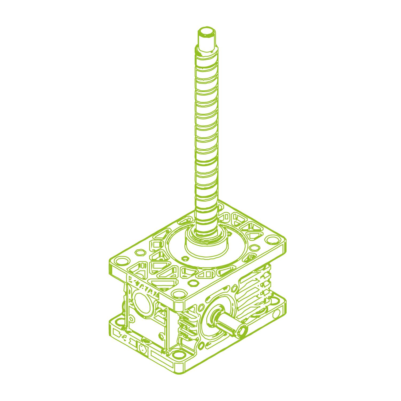 Z R-Kugelgewindetrieb 5kN | 16x10