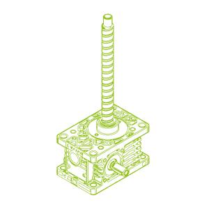 Z R-Kugelgewindetrieb 5kN | 16x5