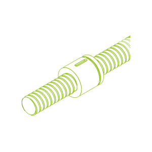 Kugelgewindetrieb mit Zylindermutter KGT-Z