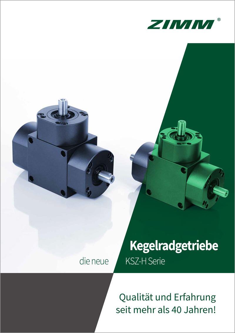 Kegelradgetriebe | KSZ-H | Deutsch