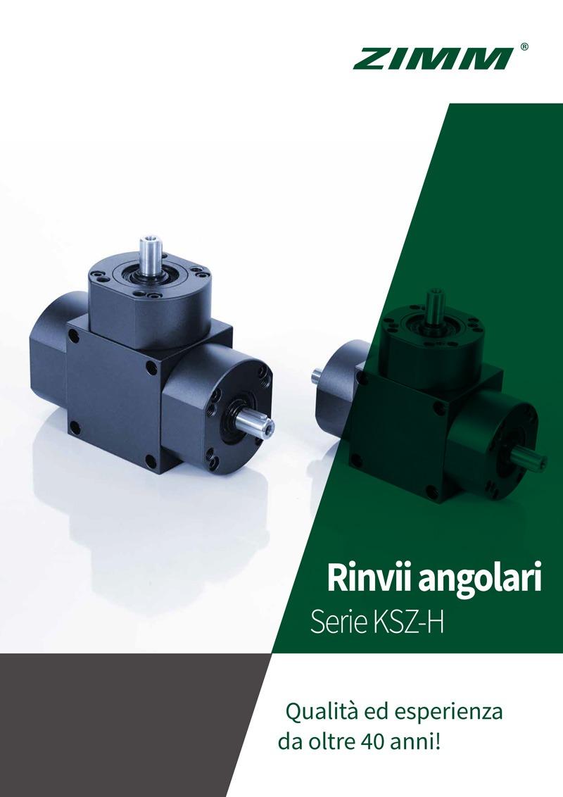 Kegelradgetriebe | KSZ-H | Italienisch