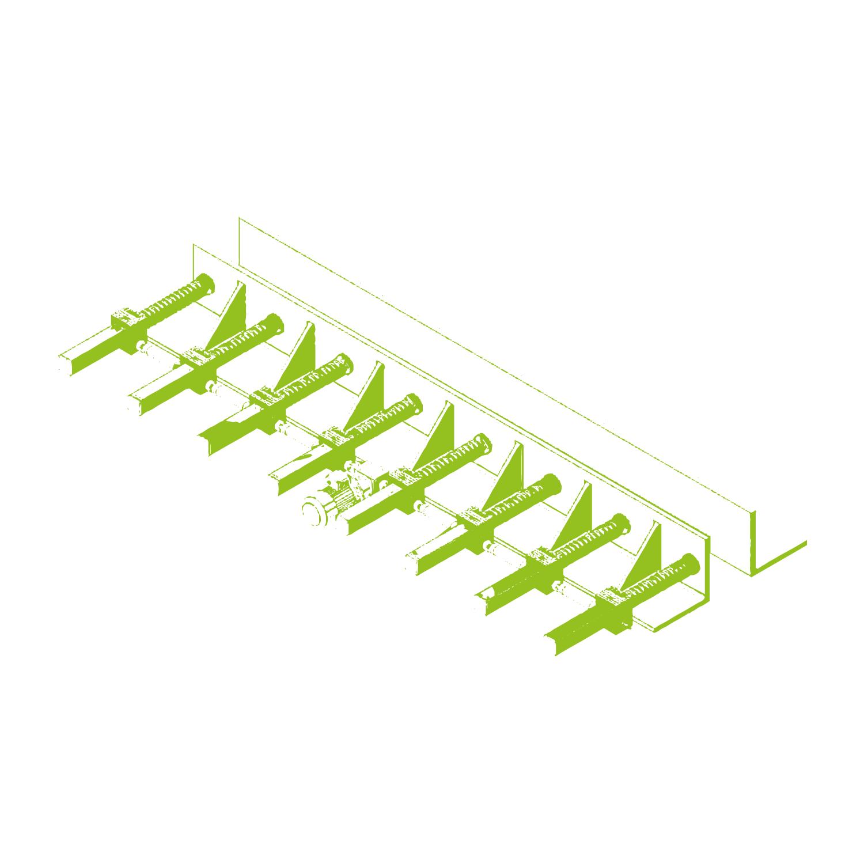 Verstellung einer Stahlschalung für Betonträger