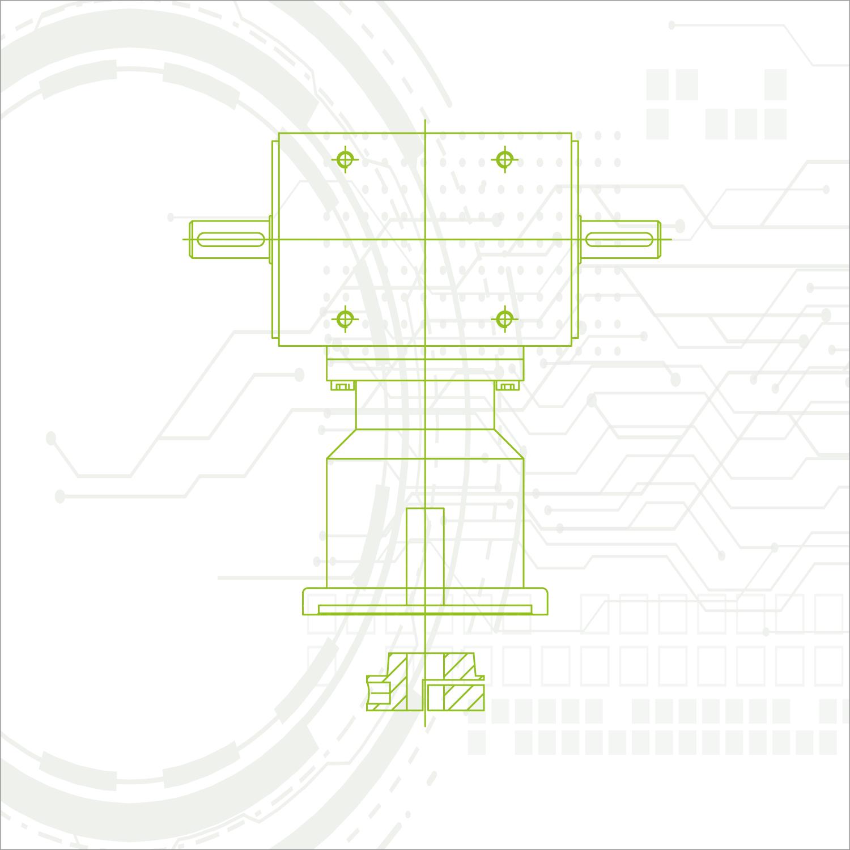 Servo-Kegelradgetriebe | Servogetriebe-Familie