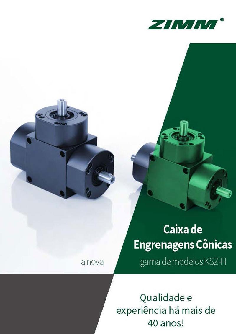 Kegelradgetriebe | KSZ-H | Portugiesisch