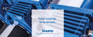 BAUMA – ZIMM war dabei!