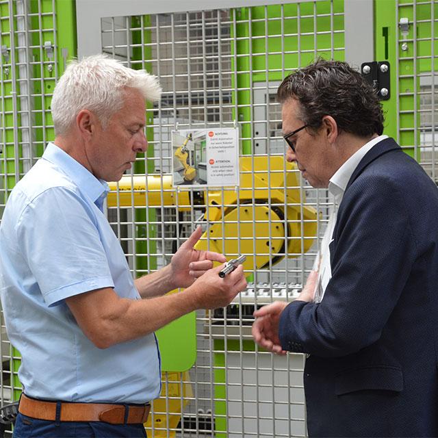 Besuch der Wirtschaftskammer Vorarlberg (WKV) bei ZIMM